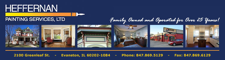 Professional Painters Home | Evanston, IL | North Shore